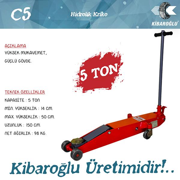 C5 Hidrolik Kriko